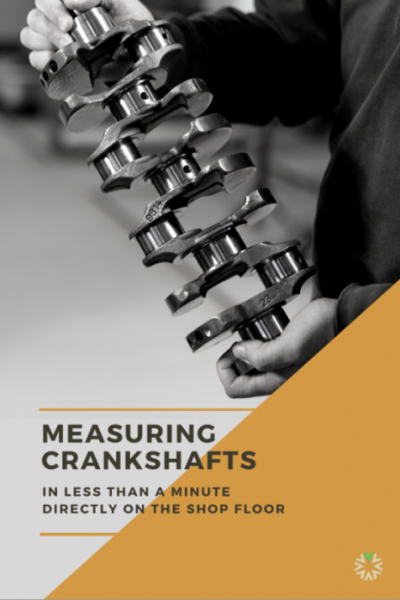 MEASURING CRANKSHAFTS VICIVISION MACHINE